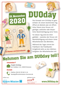 Flyer DUOday zum Download